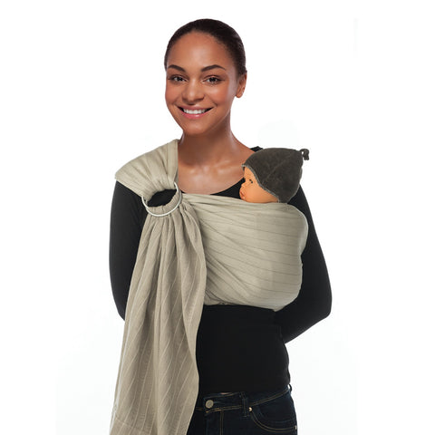 Fascia Tracolla PortaBebe Warm Taupe | BABYLONIA | RocketBaby.it
