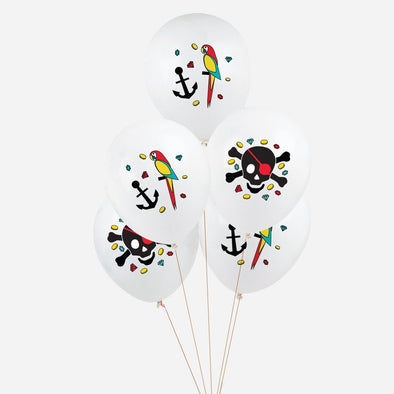 Set da 5 Palloncini Tattooed Pirate