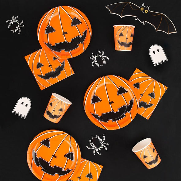 Set da 20 Tovaglioli di Carta Mini Pumpkin