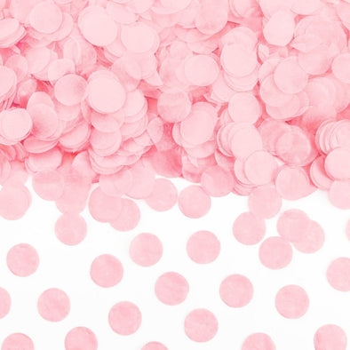 Set Decorazioni Confetti Circles Light Pink