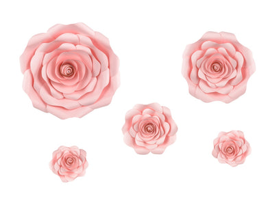 Set Decorazioni da Parete Flower Pink Mix