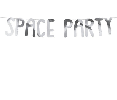 Ghirlanda Space Party Silver
