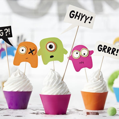 Kit Decorazione Cupcake Monsters