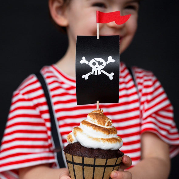 Kit Decorazione Cupcake Pirates Party