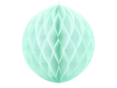 Decorazione Honeycomb Ball Light Mint 40 cm