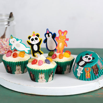 Kit per Cupcake Party Animals