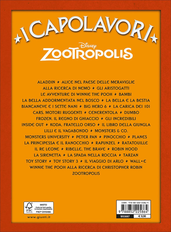 Libro Zootropolis | GIUNTI | RocketBaby.it