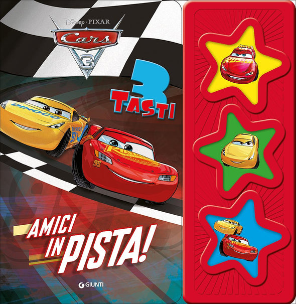 Libro con Modulo Sonoro Cars 3 Amici in Pista | GIUNTI | RocketBaby.it