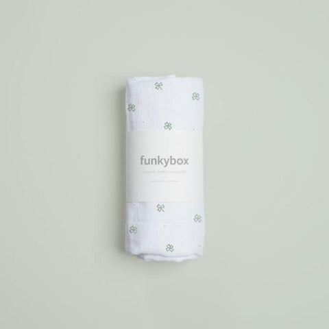 Swaddle Lucky Clover | FUNKY BOX | RocketBaby.it