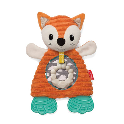 Conforter e Dentaruolo Go Gaga Cuddly Teether Fox | INFANTINO | RocketBaby.it