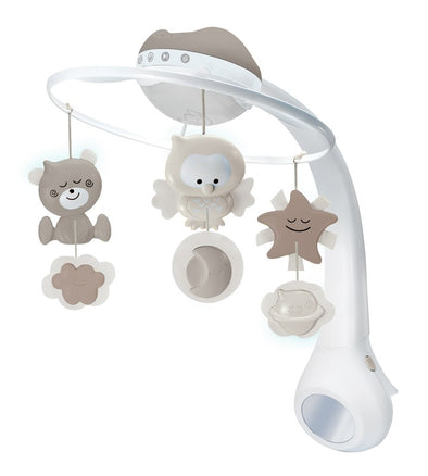 Proiettore Musicale 3 in 1 Mobile Grey | INFANTINO | RocketBaby.it