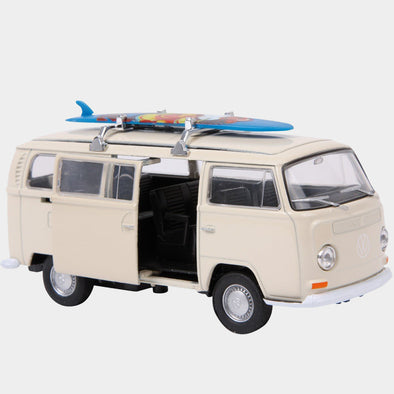 Modellino Camper VW Bus T2 e Tavola da Surf | LEGLER | RocketBaby.it