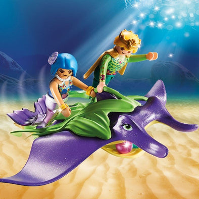 Playmobil Sirene con Manta Gigante | PLAYMOBIL | RocketBaby.it