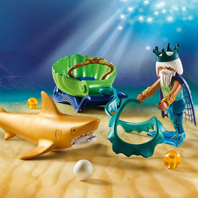 Playmobil Re del Mare con Squalo | PLAYMOBIL | RocketBaby.it