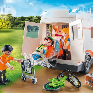 Playmobil Ambulanza City Life | PLAYMOBIL | RocketBaby.it
