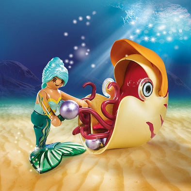 Playmobil Sirena con Lumaca di Mare | PLAYMOBIL | RocketBaby.it