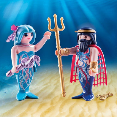 Playmobil Re del Mare e Sirena | PLAYMOBIL | RocketBaby.it