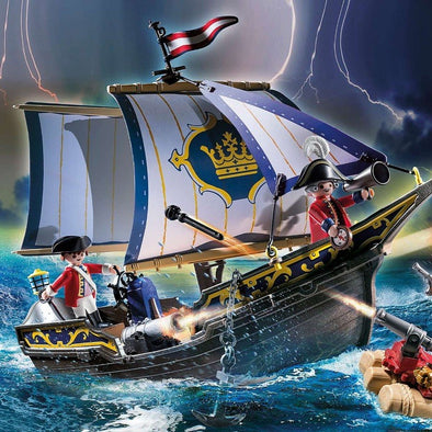 Playmobil Galeone dei Pirati con Zattera | PLAYMOBIL | RocketBaby.it