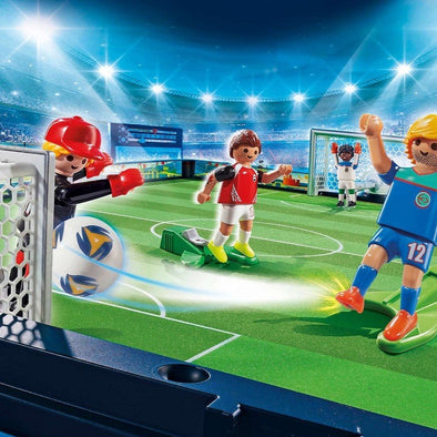 Playmobil Take Along Soccer Arena | PLAYMOBIL | RocketBaby.it