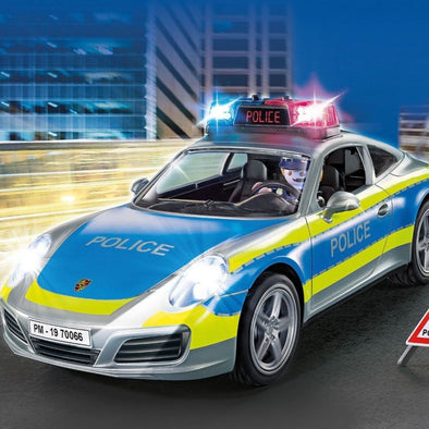 Playmobil Porsche 911 Carrera 4S Police | PLAYMOBIL | RocketBaby.it