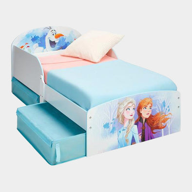Letto con Cassetti Disney Frozen 2 Elsa Anna e Olaf | WORLDS APART | RocketBaby.it