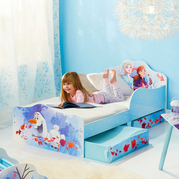 Letto con Cassetti Disney Frozen 2 Elsa Anna Olaf Autumn Leaves | WORLDS APART | RocketBaby.it