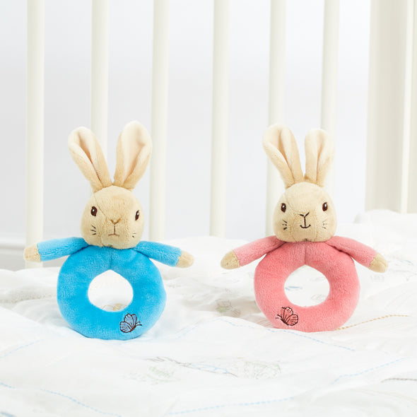 Anello Sonaglio Peter e Flopsy Rabbit | RAINBOW DESIGNS | RocketBaby.it