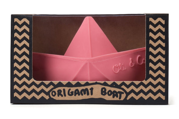Barca Origami in Hevea 3 in 1 Rosa |  | RocketBaby.it