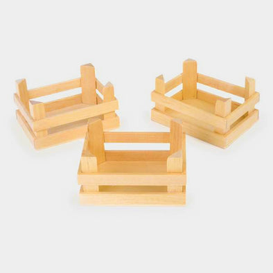 Set 3 Cassette in Legno Piccole Natura | LEGLER | RocketBaby.it