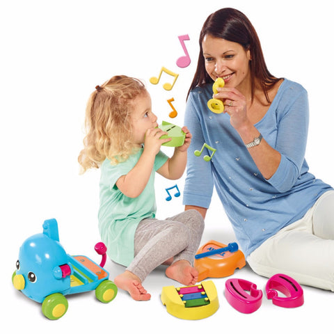 Elefantino Orchestra 6 in 1 | TOMY | RocketBaby.it