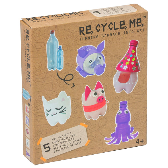 Kit Gioco Bricolage ReCycle Me PET Bottle Girls | FUN2GIVE | RocketBaby.it