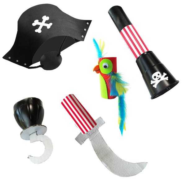 Kit Gioco Bricolage ReCycle Me Make a Pirate | FUN2GIVE | RocketBaby.it