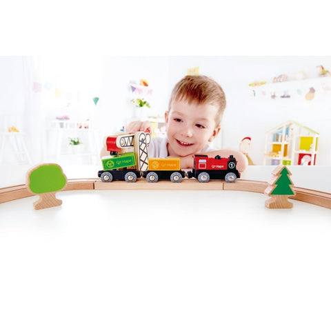 Set Locomotiva a Batteria | HAPE | RocketBaby.it