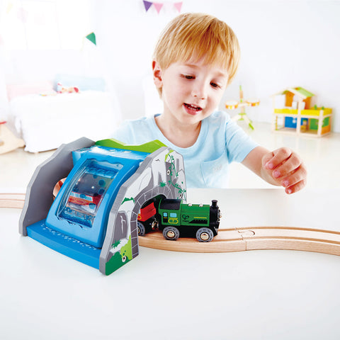 Tunnel Cascata per Treni | HAPE | RocketBaby.it
