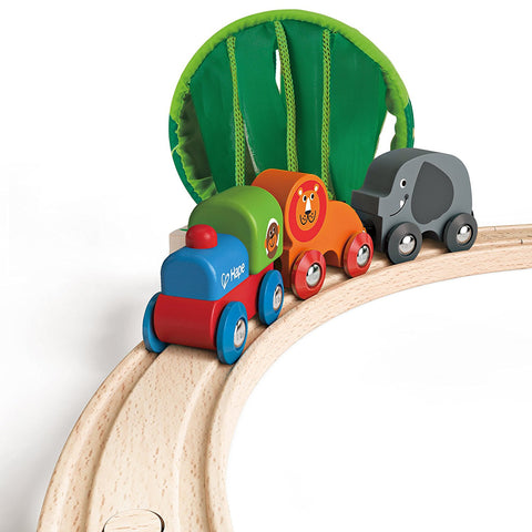 Set Jungle Train | HAPE | RocketBaby.it