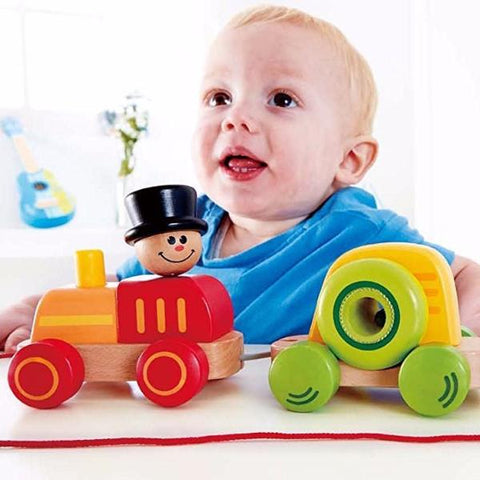 Trenino Trainabile Arcobaleno di Forme | HAPE | RocketBaby.it