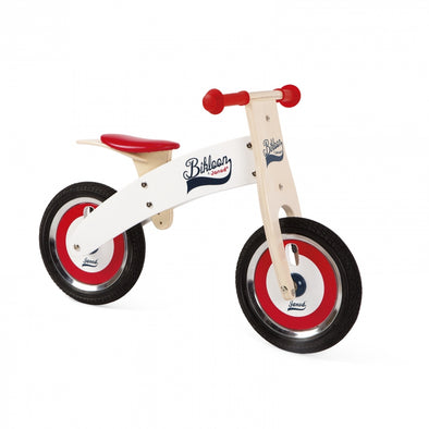 Bicicletta Balance Bike Red con Caschetto | JANOD | RocketBaby.it
