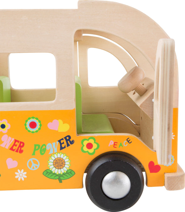 Bus Hippie In Legno | LEGLER | RocketBaby.it