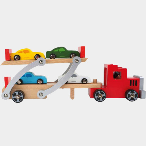 Camion In Legno Trasporta Automobili | LEGLER | RocketBaby.it