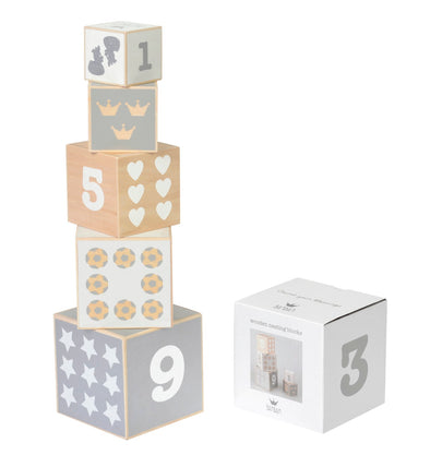 Set Blocchi In Legno | BAMBAM | RocketBaby.it