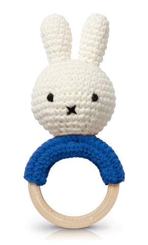 Gioco Per Dentizione Miffy Blu | JUST DUTCH | RocketBaby.it