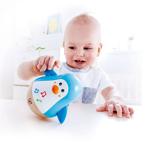 Giroscopio Musicale Del Pinguino | HAPE | RocketBaby.it