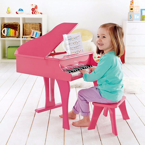 Piccolo Pianoforte Allegro Rosa | HAPE | RocketBaby.it
