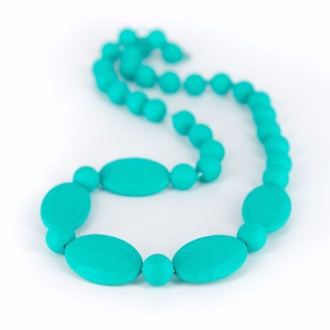 Collana da Mordere per Dentizione Licorice Turquoise |  | RocketBaby.it