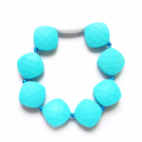 Braccialetto da Mordere Gummy Bear Turquoise | LOLLIPOPS AND MORE | RocketBaby.it