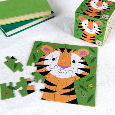 Mini Puzzle Teddy The Tiger | REX LONDON | RocketBaby.it