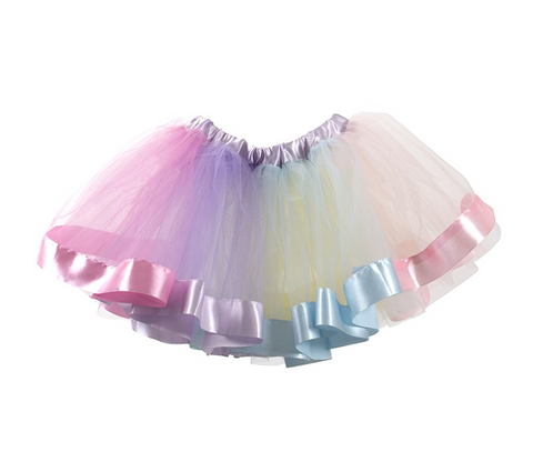 Gonna Arcobaleno in Tulle | DENGODAFEN | RocketBaby.it