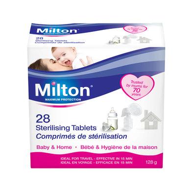 Set 28 Compresse Sterilizzanti | MILTON | RocketBaby.it