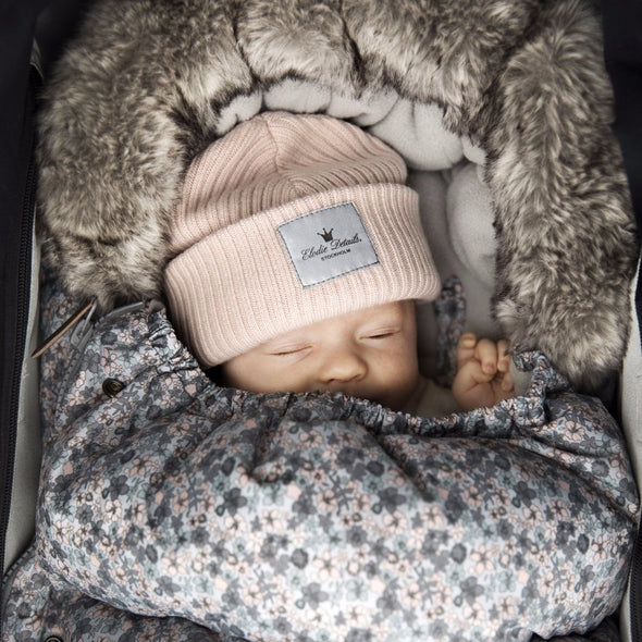 Cappellino in Lana Powder Pink |  | RocketBaby.it
