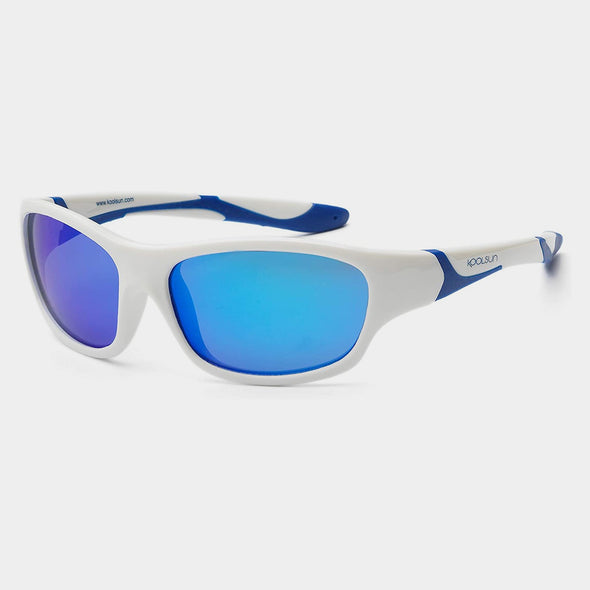 Occhiali da Sole Sport White Blue 3+ e 6+